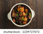 chinese traditional cuisine ... | Shutterstock . vector #1239727072