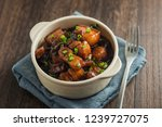 chinese traditional cuisine ... | Shutterstock . vector #1239727075