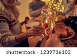 merry christmas and happy new... | Shutterstock . vector #1239736102