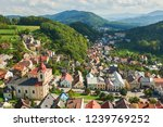 aerial view of stramberk from... | Shutterstock . vector #1239769252