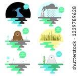illustration on the theme of... | Shutterstock .eps vector #1239789628