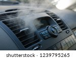 the process of cleaning car air ... | Shutterstock . vector #1239795265