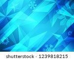 abstract christmas blue... | Shutterstock .eps vector #1239818215
