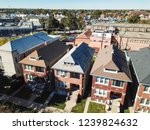 top view residential... | Shutterstock . vector #1239824632