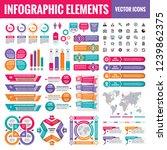 infographic elements template...   Shutterstock .eps vector #1239862375
