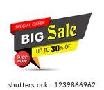 banner  sale banner template...   Shutterstock .eps vector #1239866962