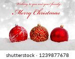 merry christmas greeting card...   Shutterstock . vector #1239877678