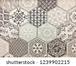 abstract home decorative art... | Shutterstock . vector #1239902215