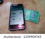 e hailing service  grab  an... | Shutterstock . vector #1239904765