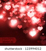 elegant  red background with... | Shutterstock .eps vector #123994012