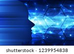 abstract artificial... | Shutterstock .eps vector #1239954838
