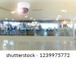 cctv system security inside of... | Shutterstock . vector #1239975772