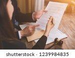 the hard work of an asian... | Shutterstock . vector #1239984835