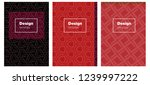dark red vector style guide for ...