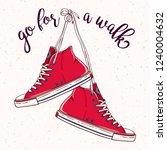 vector go for a walk... | Shutterstock .eps vector #1240004632