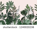 seamless border background... | Shutterstock .eps vector #1240020238