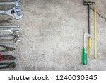 craftsman tool service auto...   Shutterstock . vector #1240030345