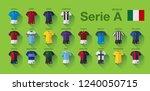 serie a soccer kit 2018 19 | Shutterstock .eps vector #1240050715
