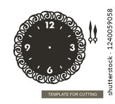 openwork dial with arrows and...   Shutterstock .eps vector #1240059058