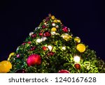 top of giant christmas tree on...   Shutterstock . vector #1240167628
