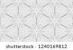 geometric zentangle coloring... | Shutterstock .eps vector #1240169812