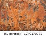 rusty metal textured  old metal ... | Shutterstock . vector #1240170772