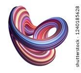 3d render  abstract background  ... | Shutterstock . vector #1240185628