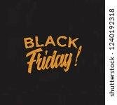 black friday banner template... | Shutterstock .eps vector #1240192318