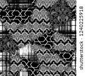 seamless pattern. patchwork...   Shutterstock . vector #1240225918