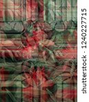 abstract modern effect floral... | Shutterstock . vector #1240227715
