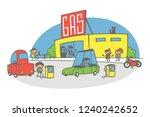 simple cartoon illustration ...   Shutterstock .eps vector #1240242652