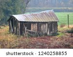 An Old  Dilapidated Tool Shed...