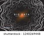 quantum computing background.... | Shutterstock .eps vector #1240269448