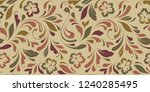 floral seamless texture for... | Shutterstock .eps vector #1240285495