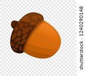 acorn icon. cartoon of acorn... | Shutterstock .eps vector #1240290148