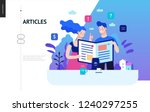 business series  color 2  ... | Shutterstock .eps vector #1240297255