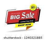 banner  sale banner template...   Shutterstock .eps vector #1240321885