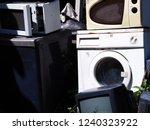 electronics washing machine... | Shutterstock . vector #1240323922