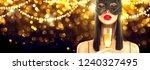 beauty glamour woman... | Shutterstock . vector #1240327495