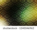 dark green  yellow vector... | Shutterstock .eps vector #1240346962