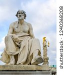 sculpture of thucydides in...   Shutterstock . vector #1240368208
