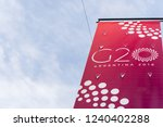 buenos aires  argentina  ... | Shutterstock . vector #1240402288