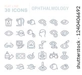 set of vector line icons of... | Shutterstock .eps vector #1240406692