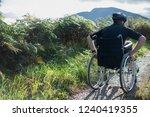 Wheelchair bound man in the...