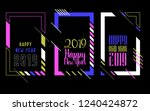 vector vertical background... | Shutterstock .eps vector #1240424872