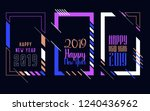 vector vertical background... | Shutterstock .eps vector #1240436962