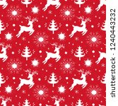 merry christmas background.... | Shutterstock .eps vector #1240443232