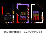 vector vertical background... | Shutterstock .eps vector #1240444795