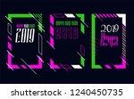 vector vertical background... | Shutterstock .eps vector #1240450735
