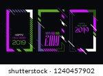 vector vertical background... | Shutterstock .eps vector #1240457902